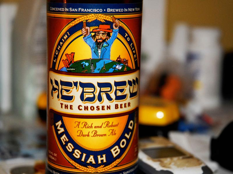He'Brew Messiah Bold Beer (Shmaltz Brewing Company) Details